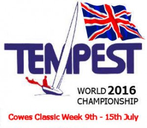 Tempest World Champs 2016 Event Logo