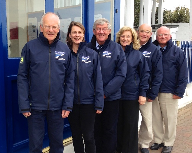 Hudson Wight Race Officers 2015