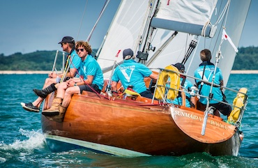 Sunmaid V - the 2018 winner of Cowes Classics Week
