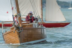 Chough racing at Cowes Classics Week