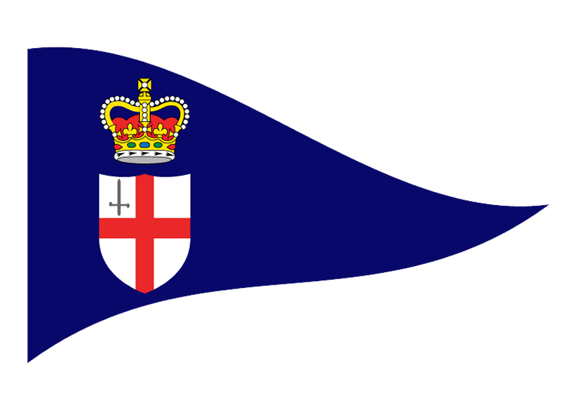 Royal London Yacht Club Burgee